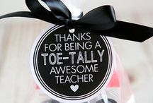 Appreciation / Gifts for parents, students, staff and teachers.