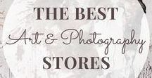 Online Art & Photography Stores / Online shops for art and photography finds from these independent online stores including Etsy, Shopify and more.