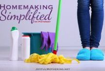 Homemaking Simplified / For all things cleaning, homemaking, organizing, etc.