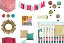 Nursery Ideas / Looking for inspiration for the nursery?  Check out our collection of nursery ideas. / by GreenPea Baby & Child