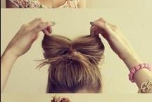 Hair / Braids, buns & ponytails