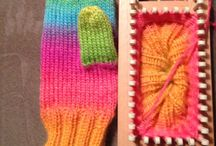 Loom Knitting Patterns & Ideas / The art and tools of this age old knitting craft / by Lea Cook/Kalicokat (>'.'<)