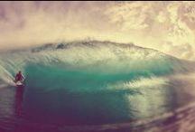 Sea & Surf / salt sand sea & surf. a surfer's life.
