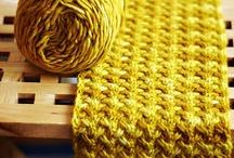 Knitting: Stitch patterns + techniques / Knitting stitches, techniques, tutorials