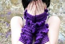 FINGERLESS GLOVES / by Sonja