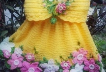 ...........................a....baby girl dresses0-3years / by Sonja