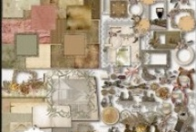 Genealogy: Scrapbook Resources / The best digital scrap booking deals and freebies from around the web that are ideal for genealogy and heritage memory and photo books.