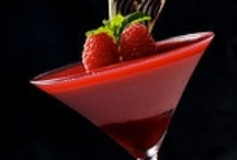 Valentine's Day Cocktails Ideas  / Red Cocktails for your Valentine's Pleasure!!  Plan your very special Valentine's Menu with one of these Red Cocktails!