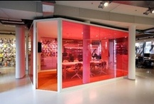 Decorative Glass Office Design / Decorative Glass Panels & Partitions for the Office & Commercial Environment.
