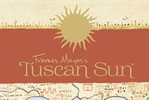 """The Tuscan Sun Wines by Frances Mayes / The """"Italian launch #TuscanSunWines in #Cortona the first week of July 2013! Stay tuned for details .."""" Hand-selected by @FrancesMayes, Tuscan Sun Wines capture the pleasures of discovery, restoration & refreshment of body & soul. Italy tuscansunwines.com  Follow on Twitter:  @FrancesMayes  @TuscanSunWines & this Hashtag #TuscanSunwines for all #Wine release news & updates!  Contact: http://www.curiouscork.com/ for information on ordering Tuscan Sun Wines. Label Paintings by Jennifer E. Young."""