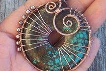 Wire Wrap Jewelry / by Connie Gray