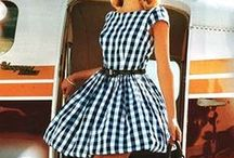 Gingham / Sewing with gingham - inspiration