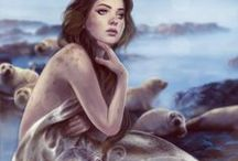 Mermaid Guide :: Selkie / Freedom, Authenticity, Voice, Claiming your own skin/s, Shapeshifting, Belonging to your tribe, Soul retrieval