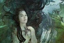 Mermaid Guide :: Merrow / Merrows are the merpeople of Ireland. Theme: Soul Retrieval