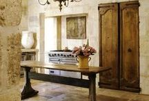 ANTIQUE FRENCH DOORS/SHUTTERS / Create looks like these from our reclaimed antique inventory