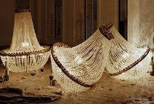 CHANDELIERS / Our chandelier inventory will allow you to easily add glamorous lighting touches to your design projects.