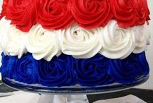 Koningsdag Recepten | Rood, Wit, Blauw, Oranje Recepten / Lekker recepten voor Koningsdag of voor wanneer Nederland speelt! Rood, Wit, Blauw, Oranje!