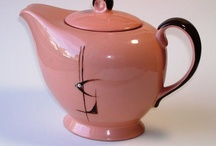 Mid Century Tea And Coffee / Stylish Mid Century teapots, coffee pots and accessories.Visit my blog http://cdiannezweig.blogspot.com/ and my site http://iantiqueonline.ning.com/