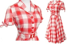 Kitschy Vintage Clothing / Turn back the clocks and see the  clothing styles of the 30s, 40s, 50s, 60s, 70s and beyond. Be sure to visit: http://cdiannezweig.blogspot.com/