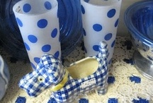Retro Polka Dots /  Whimsical vintage style with Polka dots. Be sure to vist my blog: http://cdiannezweig.blogspot.com/