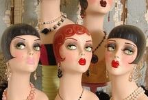 Vintage Mannequins / Flashback to vintage department store mannequins. Visit my blog http://cdiannezweig.blogspot.com/ and my site http://iantiqueonline.ning.com/