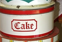 Retro Cake Savers /  Cake savers, so vintage and so practical. Visit my blog http://cdiannezweig.blogspot.com/ and my site http://iantiqueonline.ning.com/
