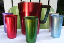 Retro Anodized Aluminum / Colorful, fun, anodized aluminum collectibles. Visit my bloghttp://cdiannezweig.blogspot.com/ and my site http://iantiqueonline.ning.com/