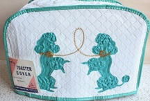 Retro Poodle /  Oodles of retro poodles. Visit my blog http://cdiannezweig.blogspot.com/ and my site http://iantiqueonline.ning.com/