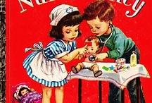 Vintage Children's Books / Delightful, colorful vintage children's books. Visit my blog http://cdiannezweig.blogspot.com/ and my site http://iantiqueonline.ning.com/
