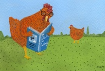 Little Read Hens Book Cluck / The Little Read Hens -- writers Terri L. Austin, Anise Rae, Larissa Reinhart & LynDee Walker -- cluck book topics every Wed on FB at www.facebook.com/LittleReadHens & announce new releases at littlereadhens.com. #Booklovers, come join us! #books #bookchat #litchat / by Larissa Reinhart