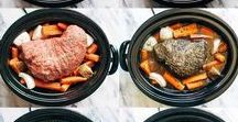 Recipes- Slow Cooker / Get ready to break out the crock pot with all these great slow cooker recipes!