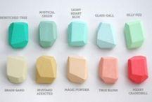 Color palettes and design