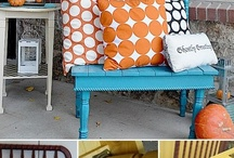Retro Furniture Makeovers / Upcycle or make over your old furniture with a hip Retro look. Design ideas, tips on restoration,  refinishing and  decorating. Visit my blog http://cdiannezweig.blogspot.com/ and my site http://iantiqueonline.ning.com/