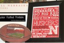 "Nebraska Cornhusker Fan! #GoBigRed / A board for all my favorite Husker football posts & ideas - tailgating recipes & football food, Huskers crafts & DIY, Nebraska photography, college football stories and more! ""There is no place like Nebraska.."" Go Big Red!!  / by Sara {Mom Endeavors}"