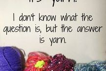 Crochet, Knitting and Fiber Humor / Board for Crochet, Knitting and Fiber Humor