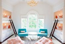 Bunk rooms / What color!