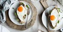 Healthy Breakfast / Eggs, oatmeal, granola, yogurt and all of the healthy breakfast ideas in between.
