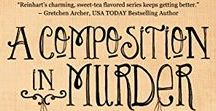 A Composition in Murder, A Cherry Tucker Mystery #6 / While Cherry Tucker teaches art at Halo House, Halo's premier independent living facility, she witnesses the will for the reigning CEO of Meemaw's Tea and finds herself embroiled in a deathly war brewing in Belvia Brakeman's sweet tea empire.