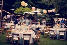 • We Love || Garden Parties •