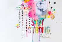 EVERYTHING SCRAPBOOK / This is a collection of awesome scrapbook layouts and templates. Inspiration for your creative scrapbooking.