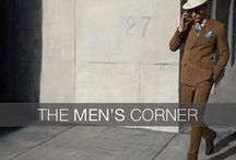 THE MEN'S CORNER / Carnet de Mode also brings the best for Men #men #outfit #fashion #style #carnetdemode #inspiration