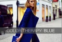BLUE / Dive into a world of #blue with our Hand-picked selection of #designer pieces !  #outfit #fashion #style #carnetdemode #inspiration