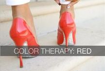 RED / #passion, #love, #strength... Red is the color of Power Dressing! #outfit #fashion #style #inspiration