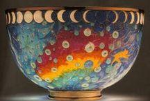 Beautiful porcelain, ceramic