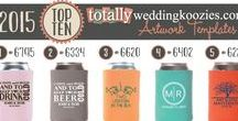 Most Popular Wedding Designs / These are our best selling, most popular wedding template designs!  All of our designs are available to customize and fit your special event!