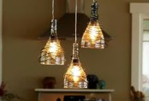 Recycling Lamps and lights
