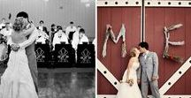 Rustic Wedding Inspiration / Ideas and inspiration for Rustic Themed Weddings.