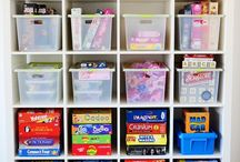 Organizational tips / Tips to get organized and stay sane