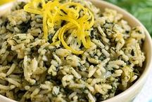 Green Side Dishes / It can make a meal completely in everyday life