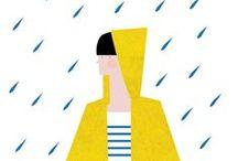 Illustration / by Anastasia Shakhaeva